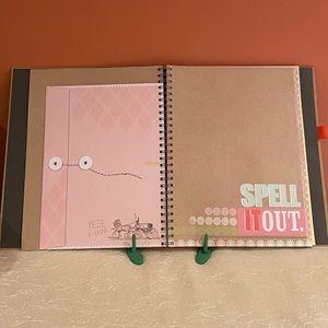NEW  Smash Scrapbook Album Folio